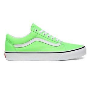 Vans Old Skool Neon Green Gecko Sneakers